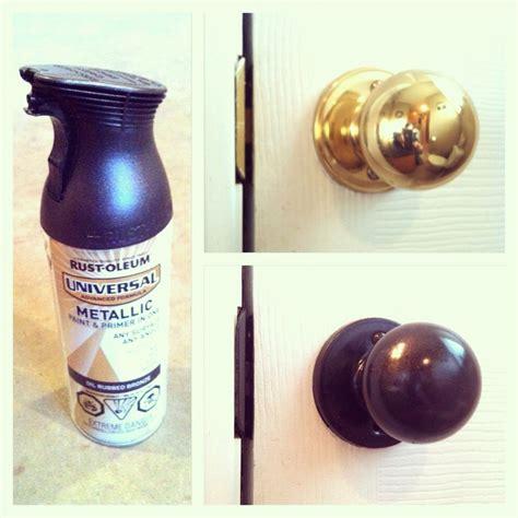 Rustoleum Rubbed Bronze Spray Paint Door Knobs by 197 Best Images About Cupboard Handles On