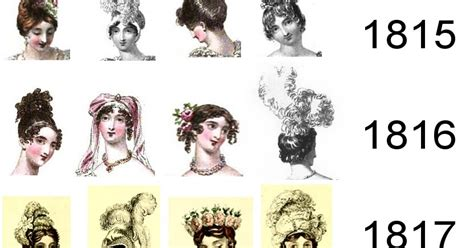 Regency Hairstyles by Regency History Headdresses And Hairstyles For Regency