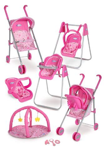 baby doll swing set 39 99 baby graco play set stroller with canopy swing