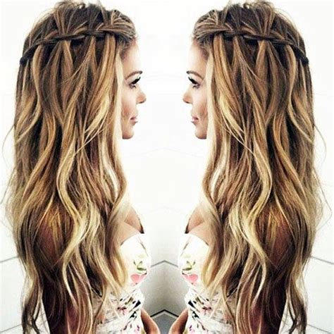 hair styles for ugly faces 25 hairstyles to slim down round faces waterfall twist