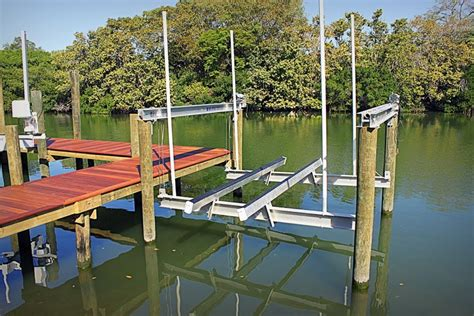 boat r five dock build boat share how to lift a boat dock