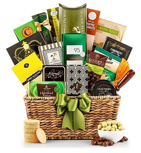 gourmet gifts a taste of elegance gift basket