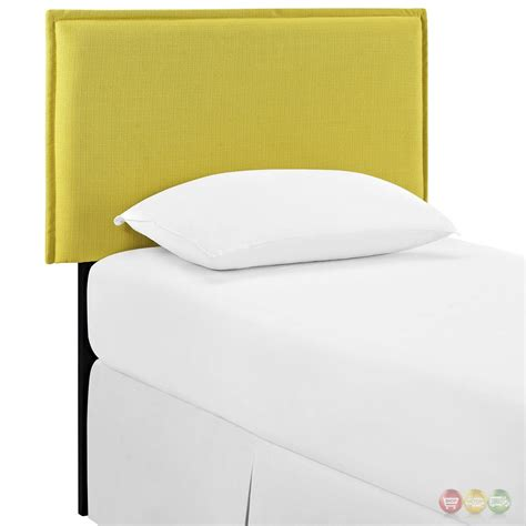 fabric headboard twin camille twin french seam upholstered fabric headboard sunny