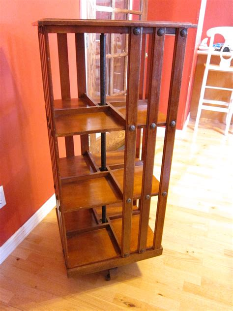 Revolving Bookcase For Sale danner revolving bookcase for sale antiques classifieds