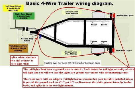 4 way wiring diagram for trailer lights facbooik with