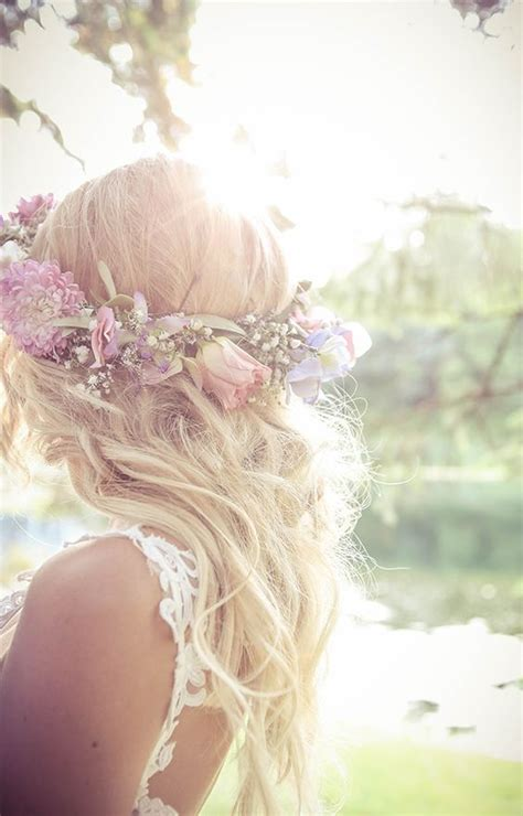 Vintage Style Wedding Hair by With Hair Crown Waves Bridal Hair Vintage