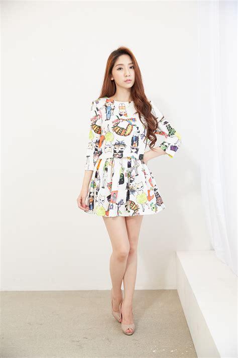 Baju Korea Murah Dress Cantik baju dress wanita korea lucu model terbaru jual murah