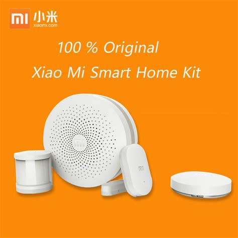 Xiaomi Smarthome Kit Smart Device Set newest xiaomi smart home kit gateway door window sensor human sensor wireless switch smart