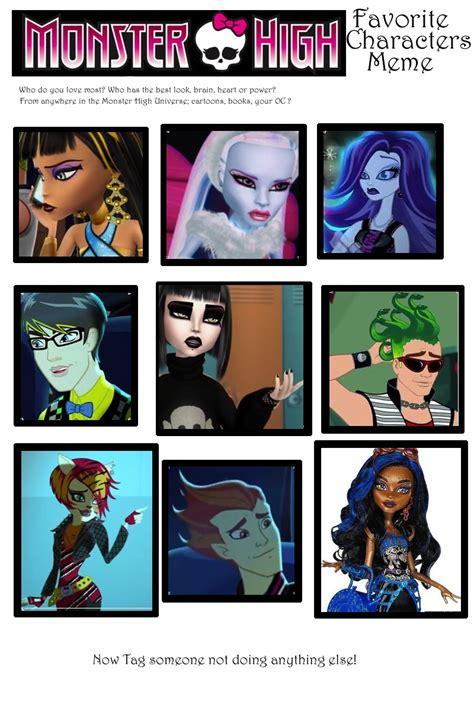 Monster High Memes - filled monster high meme by shyviolet911 on deviantart