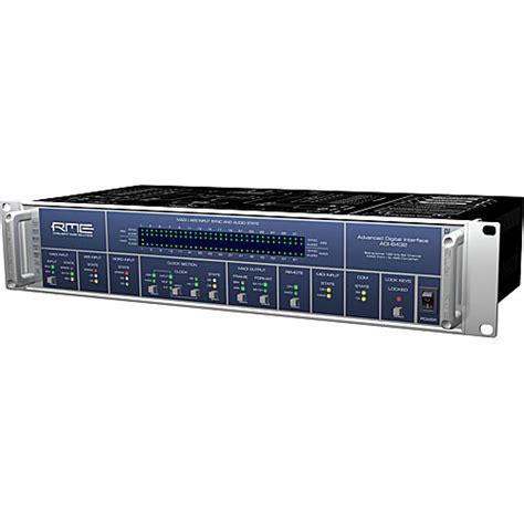 format audio cbr rme adi 6432 madi aes format converter adi6432 b h photo video