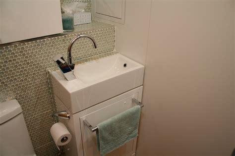 tiny powder room sink tiny laundry powder room contemporary laundry room