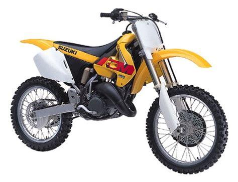 Suzuki Rm 125 1999 Le Guide Vert Suzuki 1999 Les Fiches Techniques Moto