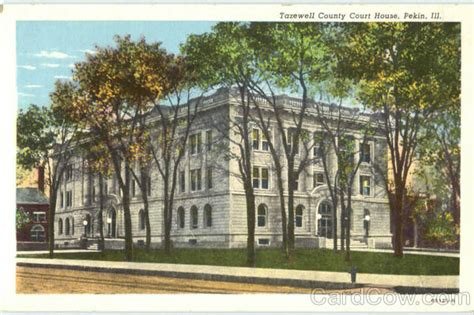 Tazewell County Court Records Tazewell County Court House Pekin Il