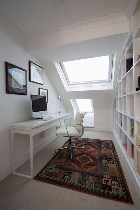 narrow desks  slim spaces  space savvy homes