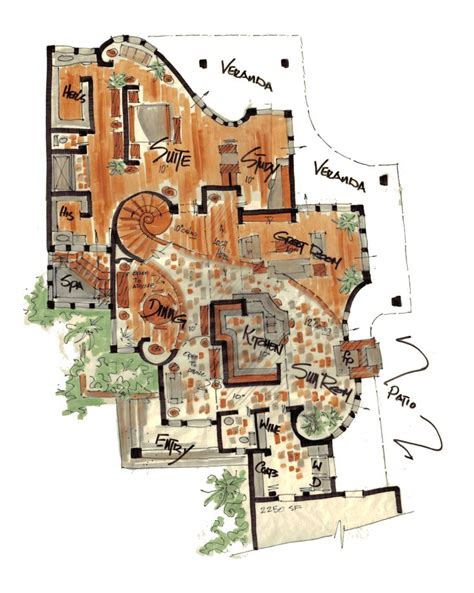 cool floor plans curved wall floor plans they cool castle floor