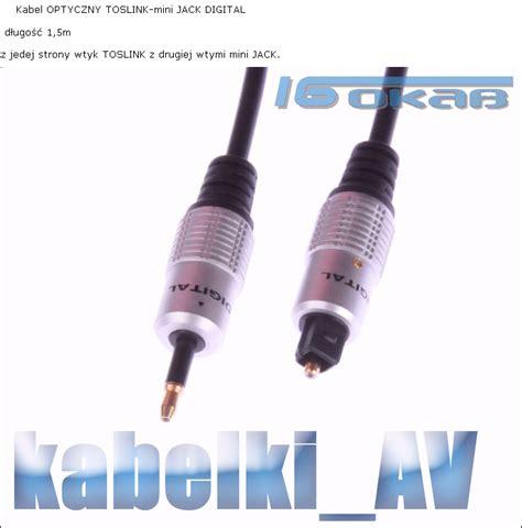 Kabel Optical Audio Digital 10m kabel optyczny toslink mini kt 243 ry wybrać elektroda pl