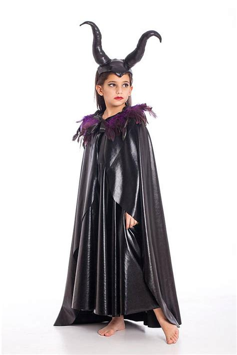 maleficent cape halloween costumes kids costumes girls