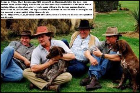 boer genocide farm murder death boer genocide boer gunsmith kobus de vries another