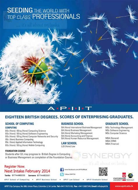 Mba After Msc Computer Science by Business Computing And Masters Degree Programme In