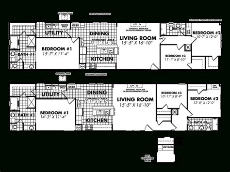 18 x 80 mobile home floor plans the best of 18 x 80 mobile home floor plans new home
