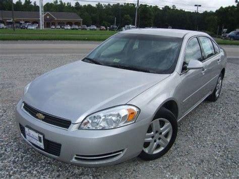 2007 chevy impala gas mileage sell used 2007 chevrolet impala ls sedan at ac 26 mpg in