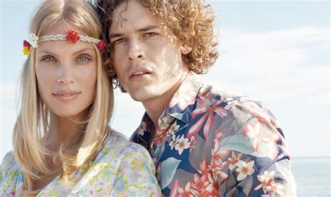 moda figli dei fiori moda uomo il ritorno dei figli dei fiori www stile it