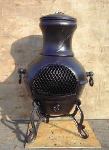 Chiminea Steel Or Cast Iron Best Cast Iron Outdoor Chiminea Reviews 2014 With Images