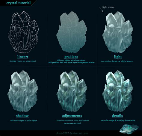 pattern photoshop ice crystal tutorial by azot 2012 deviantart com on