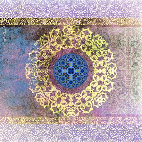 islamic pattern canvas islamic motive painting by corporate art task force