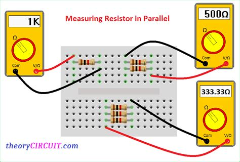 breadboard resistors in series series and parallel