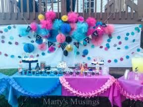 Back Yard Kitchen Ideas baby gender reveal