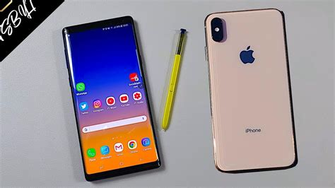 samsung note 9 vs iphone xs max why only iphone is worth it