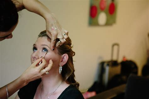 Wedding Hair And Makeup For Bridesmaids by Wedding Makeup Artist For Bridesmaids False Lashes Cairns