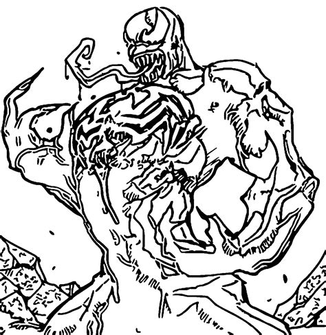 venom online coloring pages coloring pages of venom coloring home
