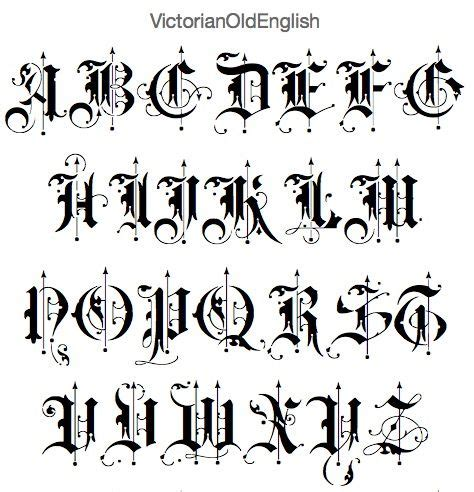 best 25 old english font best 25 font ideas only on