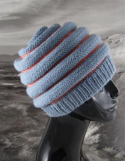 stripe patterns for knitting stripe beehive hat by madmonkeyknits knitting pattern