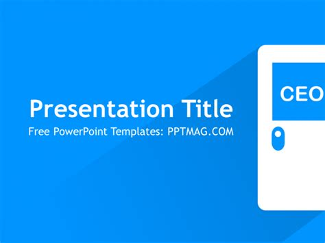 powerpoint presentation templates for executives free ceo powerpoint template pptmag
