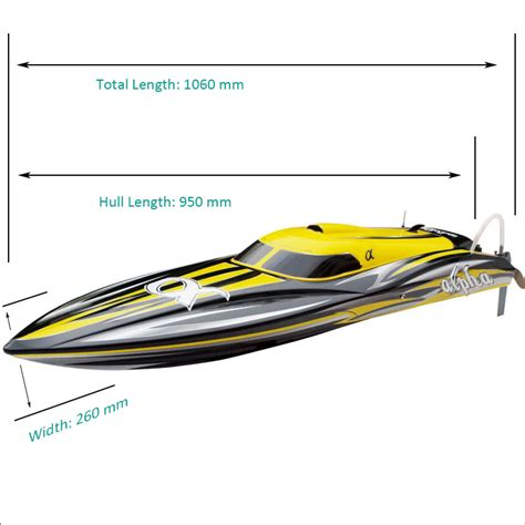 super fast rc speed boat super fast biggest brushless speed boat for adults alpha