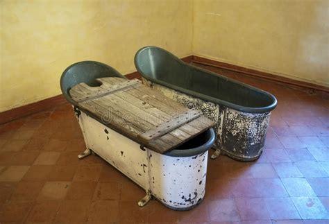 old metal bathtubs old metal bathtubs stock photo image of room wood metal 10501584