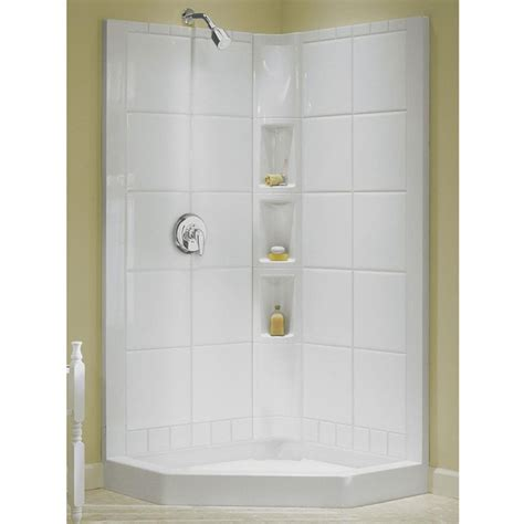 Showers Awesome Kohler Sterling Shower Sterling 5 Ft One Shower Stall With Door