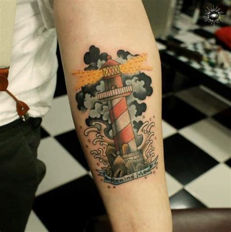 maverick tattoo 101 bright shining lighthouse design ideas