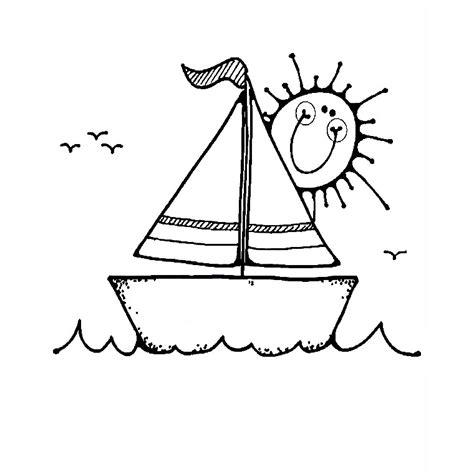 dessin anime bateau sur l eau bateaux coloriages des transports page 3