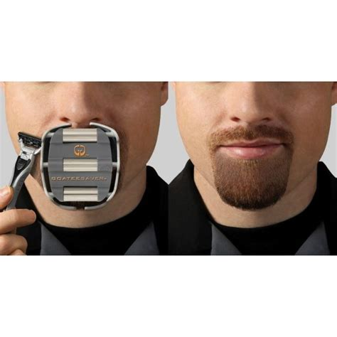 goatee shaving template for men kuwait gifts and