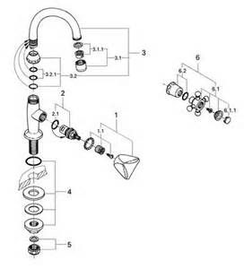 Grohe Kitchen Faucet Replacement Parts by Order Replacement Parts For Grohe 20440 Classic Basin Tap