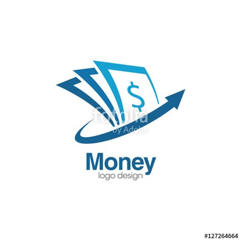 design logo and earn money quot money creative concept logo design template quot stock image
