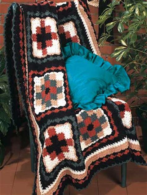 Navajo Quilts by Navajo Quilt Free Crochet Afghan Pattern