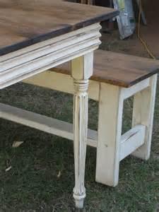 Farmhouse Benches For Dining Tables Farm Table And 2 Benches Farmhouse Dining Table And Benches