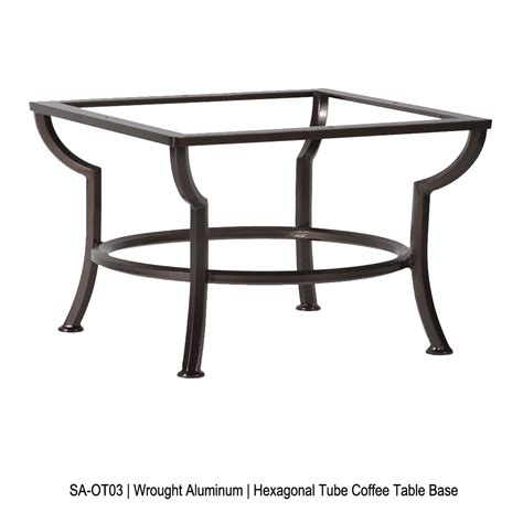 36 Inch Square Coffee Table 36 Inch Square Porcelain Tile Top Coffee Table Ow At Forpatio