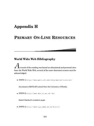 dissertation appendices what are appendices in a thesis ehow