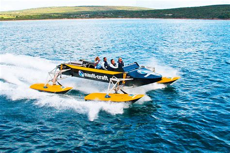 boat with suspension hydraulic suspension powercat motor boat yachting